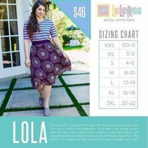LuLaRoe Skirts - LuLaRoe 'Lola' Skirt